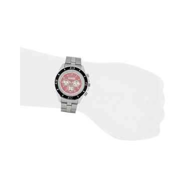 Exotica Fashions Analog Round Dial Watches_E08st10 - Black & Red