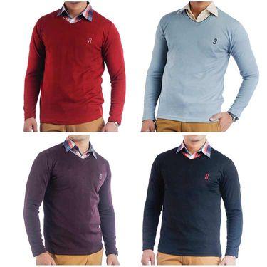 Pack of 4 Full Sleeves Sweaters For Men_Srifs07