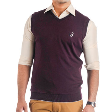 Pack of 3 Sleeveless Sweaters For Men_Srihs07
