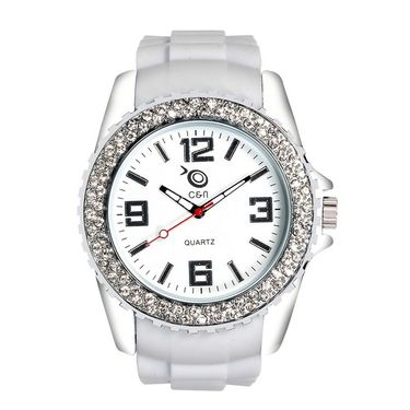 Chappin & Nellson Analog Round Dial Watch For Women_Cnp10w21 - White