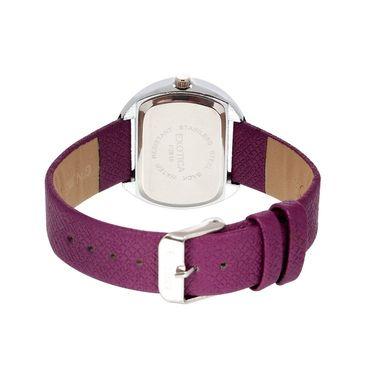 Exotica Fashions Analog Oval Dial Watch For Women_Efl24w62 - Purple