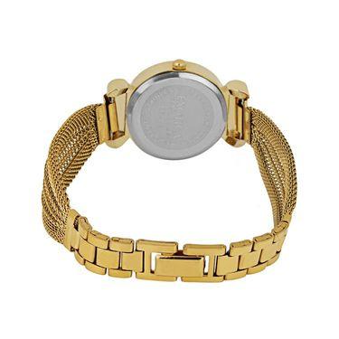 Exotica Fashions Analog Round Dial Watch For Women_Efl25w40 - White