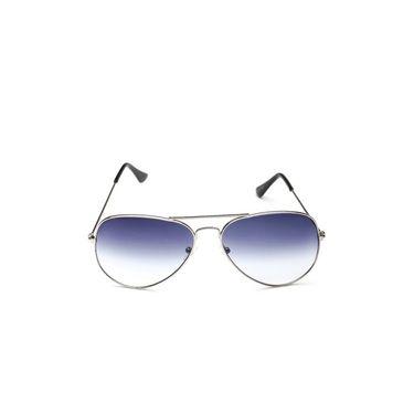 Alee Metal Oval Unisex Sunglasses_122 - Blue