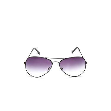 Alee Metal Oval Unisex Sunglasses_146 - Purple