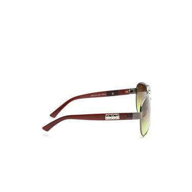 Alee Metal Oval Unisex Sunglasses_157 - Green