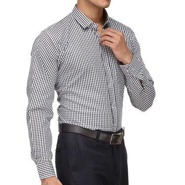 Rico Sordi Full Sleeves Stripes Shirt_R010f - Black
