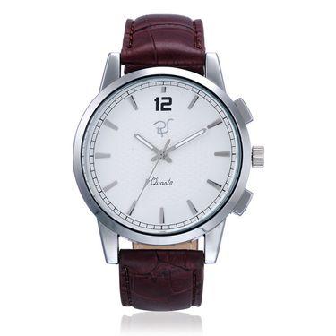 Rico Sordi Analog Round Dial Watch_Rwl45 - White