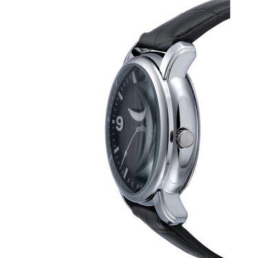 Rico Sordi Analog Round Dial Watch_Rwl47 - Black