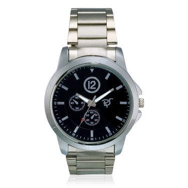 Rico Sordi Analog Round Dial Watch_Rws50 - Black