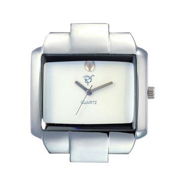 Rico Sordi Analog Square Dial Watch_Rws52 - White