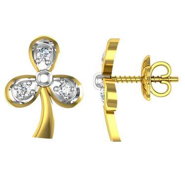 Ag Real Diamond Amruta Earrings_Agse0007w