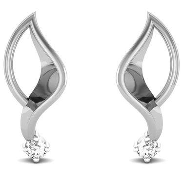 Ag Real Diamond Samita Earrings_Agse0014w
