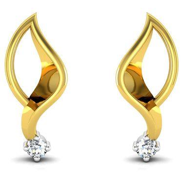 Ag Real Diamond Shilpa Earrings_Agse0014y