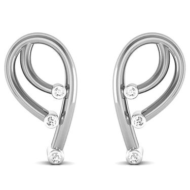 Ag Real Diamond Hema Earrings_Agse0049w