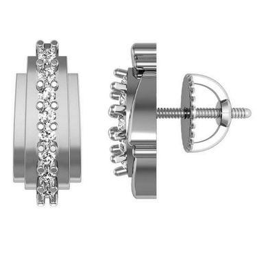 Avsar Real Gold and Swarovski Stone Kirti Earrings_Ave013wb
