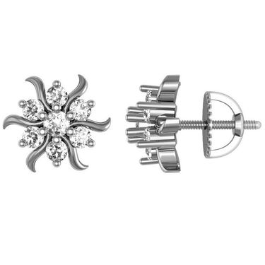 Avsar Real Gold and Swarovski Stone Payal Earrings_Ave019wb
