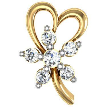 Avsar Real Gold and Swarovski Stone Minal Earrings_Ave050yb