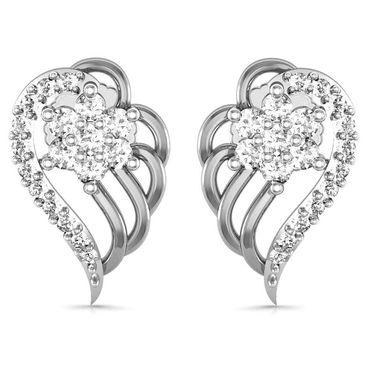 Avsar Real Gold and Swarovski Stone Jaipur Earrings_Ave0182wb