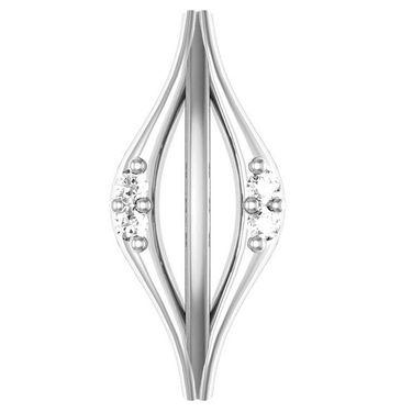 Avsar Real Gold and Swarovski Stone Krutika Earrings_Bge034wb