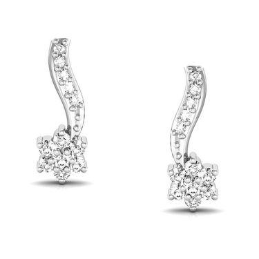 Avsar Real Gold and Swarovski Stone Shraddha Earrings_Bge043yb