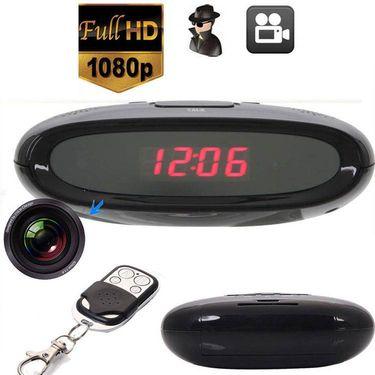 NEW HD 1080P HIDDEN CAMERA CLOCK REMOTE NIGHT VISION MOTION DETECTION - CODE 337