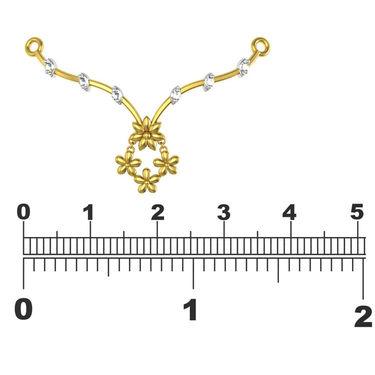 Avsar Real Gold & Swarovski Stone Manipur Necklace_Nl8yb