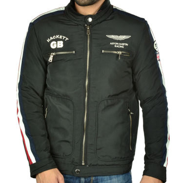 Branded Quilted Leather Jacket_Os20