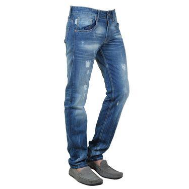 Branded Cotton Regular Fit Jeans_Jjl - Light Blue