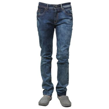 Branded Cotton Slim Fit Jeans_Dgdb - Dark Blue