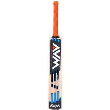 AVM Gray Stone Kashmir Willow Cricket Bat (Short Handle, 1025 g)