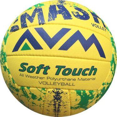 AVM Multicolor Smash Volleyball - Size 5, Dia 2.5 cm