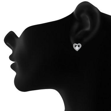 Mahi Rhodium Plated Swarovski Zirconia Pendant Set_Nl5105019rcd