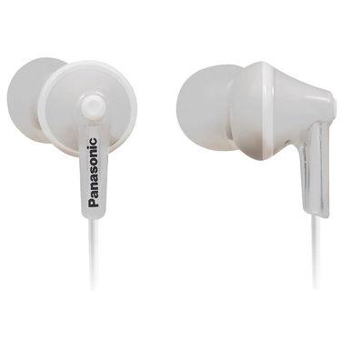 Panasonic RP-TCM125E-W In Ear Earphones with Mic (White)