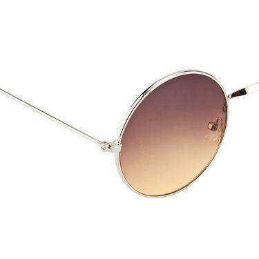 Mango People Metal Unisex Sunglasses_Mp10800gdsl - Black & Brown