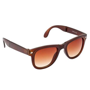 Mango People Plastic Unisex Sunglasses_Mp20156br - Brown