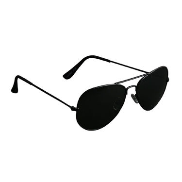 Mango People Metal Unisex Sunglasses_Mpavi2001blk - Black