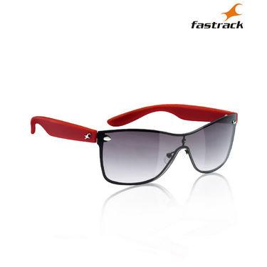 Fastrack 100% UV Protection Sunglasses For Men_C050bk1 - Purple