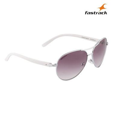 Fastrack 100% UV Protection Sunglasses For Women_C053bk2f - Brown