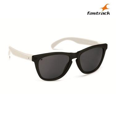 Fastrack 100% UV Protection Sunglasses For Men_Pc003bk3 - Black