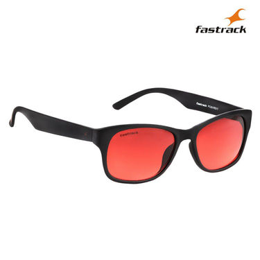 Fastrack 100% UV Protection Sunglasses For Men_Pc001rd17 - Red