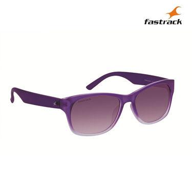 Fastrack 100% UV Protection Sunglasses For Women_Pc001pk14f - Purple