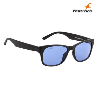 Fastrack 100% UV Protection Sunglasses For Men_Pc001bu15 - Blue