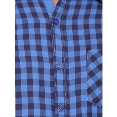 Crosscreek Cotton Casual Shirt_1230301 - Blue