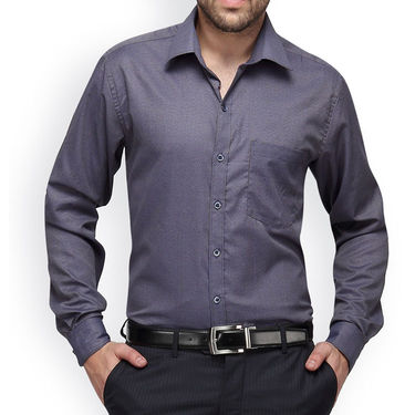 Copperline Cotton Rich Formal Shirt_CPL1143 - Blue Yellow