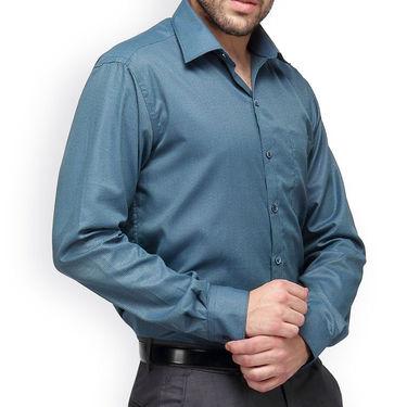 Copperline Cotton Rich Formal Shirt_CPL1145 - Green