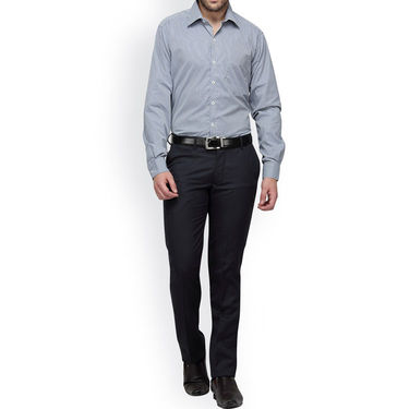 Copperline Cotton Rich Formal Shirt_CPL1146 - Yellow Navy