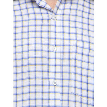 Copperline Cotton Rich Formal Shirt_CPL1154 - White Yellow