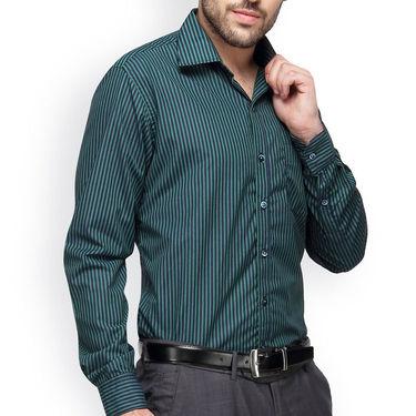 Copperline Cotton Rich Formal Shirt_CPL1161 - Green