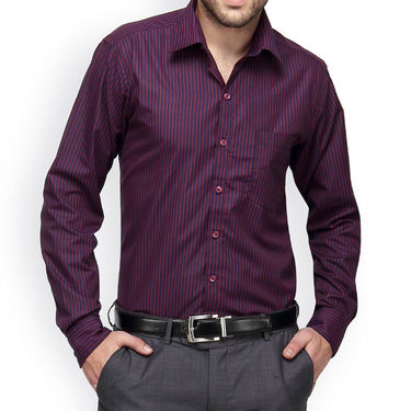 Copperline Cotton Rich Formal Shirt_CPL1162 - Red