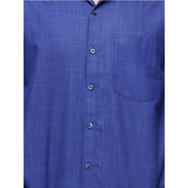 Copperline Cotton Rich Formal Shirt_CPL1167 - Ink Blue